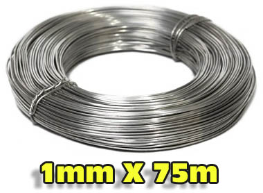AS Aluminum Wire Spool 1mm