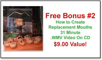 Free Bonus: Clay Replacement Mouths!