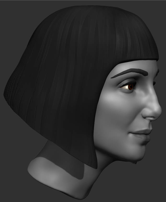 Cher Inspired Full Scale Mannequin Head Casting