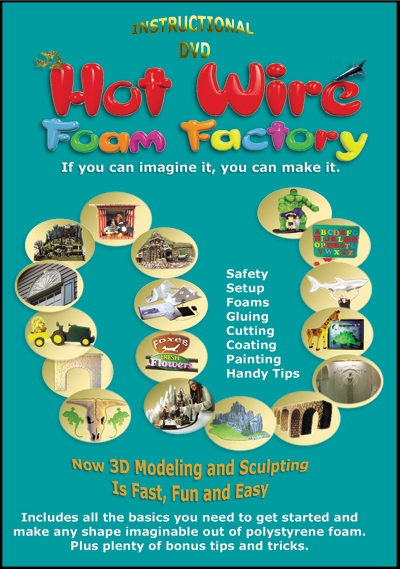 Hot Wire Foam Factory DVD