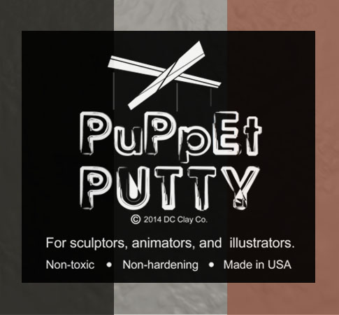 Puppet Putty Black 7oz