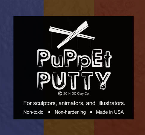 Puppet Putty Blue 7oz