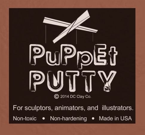 Puppet Putty Brown 7oz