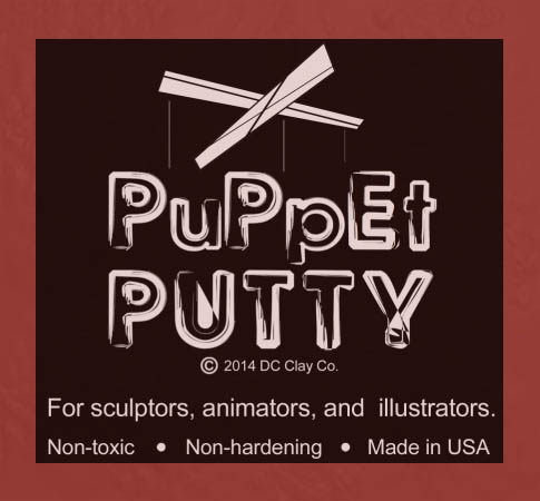 Puppet Putty Dark Red 7oz