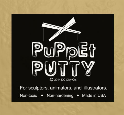 Puppet Putty Gold 7oz