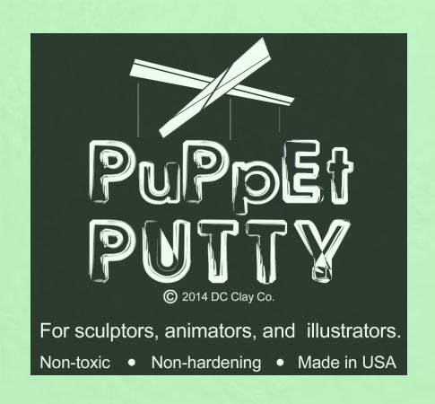 Puppet Putty Light Green 7oz