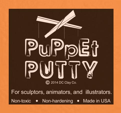 Puppet Putty Light Orange 7oz