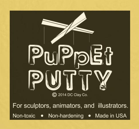 Puppet Putty Light Yellow 7oz