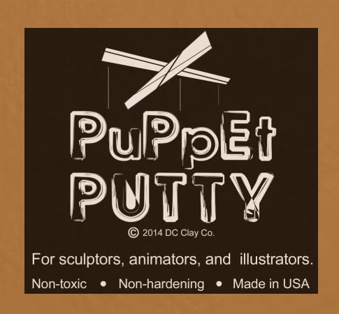 Puppet Putty Mustard 7oz