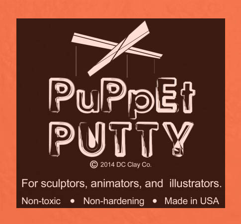 Puppet Putty Orange 7oz