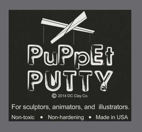 Puppet Putty Silver 7oz