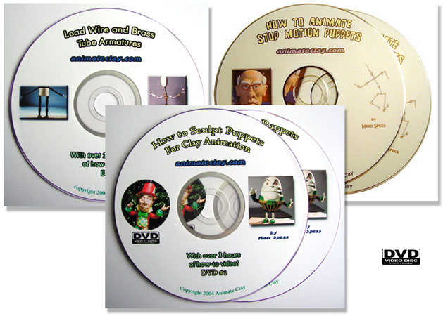 Armatures, Sculpting & Animation DVD 3 Pack UPDATED Save $15.00