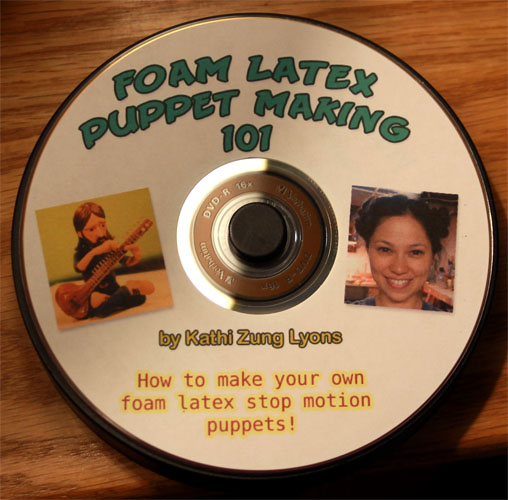 Foam Latex Puppet Making 101 DVD