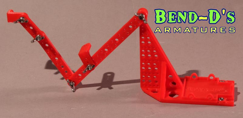 Bend-D's Jumpin/Flying Rig/Surface Gage (Orange Color)+Connector