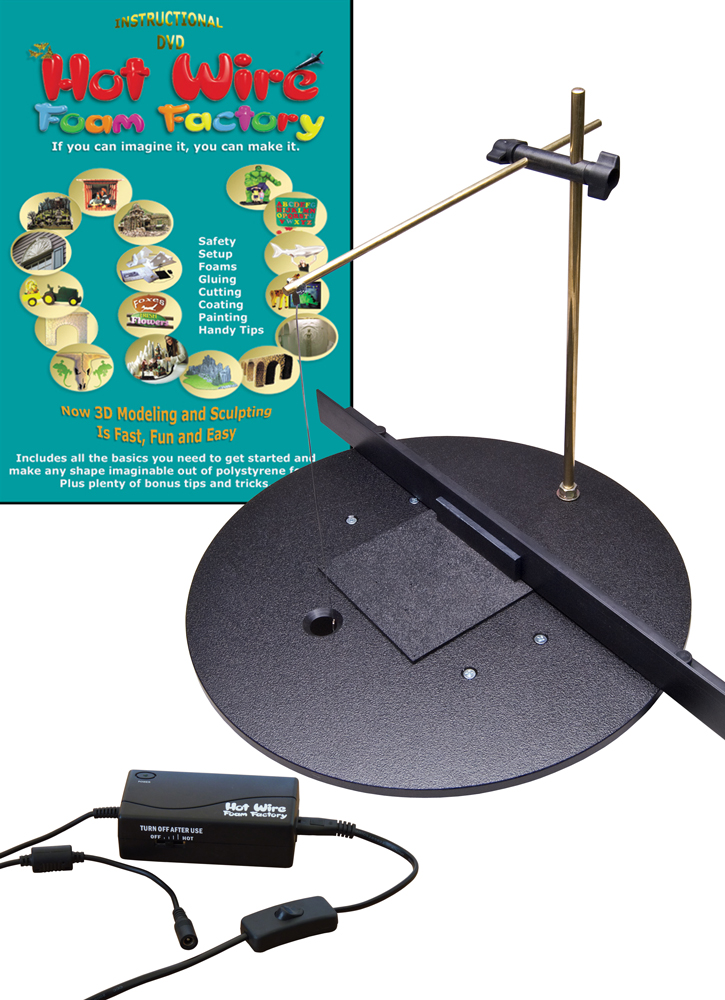 #K03DP - 3D Pro 16 Inch Table Kit with Multi-Heat Pro Power Stat