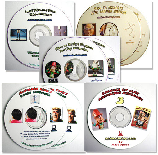 Stop Motion DVD Master Course (Free Shipping!)