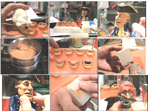 Creating Clay Replacement Mouths CD