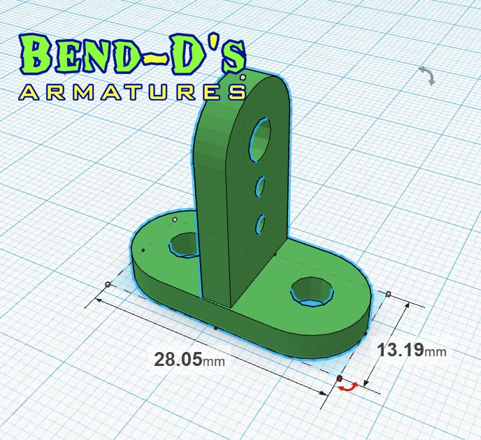 Bend-D's Flying Rig Connector (Green Color)