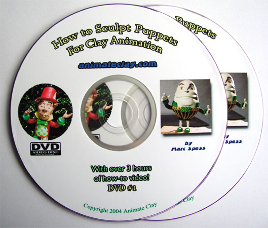 How to Sculpt Puppets 2 DVD Set (Also in Spanish)