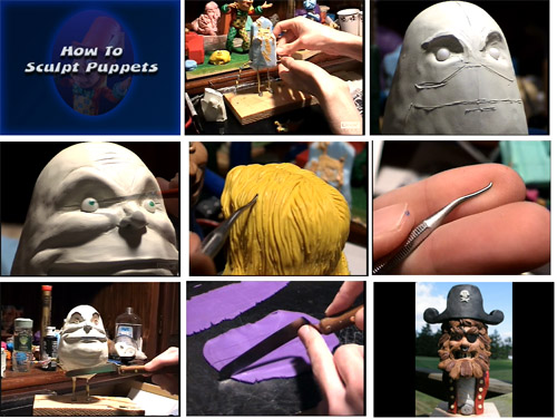How to Sculpt Puppets (4 hours) Instant Download
