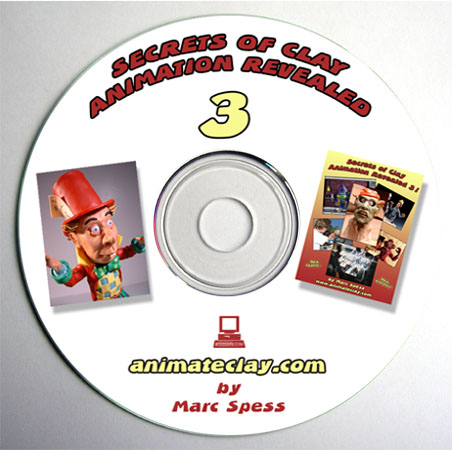 Secrets of Clay Animation Revealed 3 on CD
