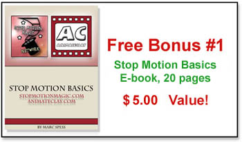 Free Bonus: Stop Motion Basics by Marc Spess!