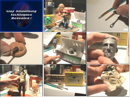 Oil and Polymer Clay Smoothing Techniques Revealed! CD