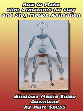 How to Make Aluminum Wire Armatures (1 hour) Instant Download